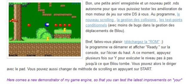 Bilou's Adventure - Nintendo DS