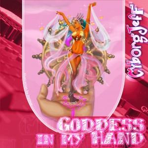 Cyborg Jeff - Goddess in my hand - cover - 2008