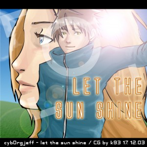 cyborgjeff - let the sun shine - cover - 2003