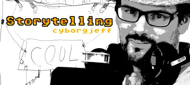 Cyborg Jeff - CD Album - Storytelling - 2017
