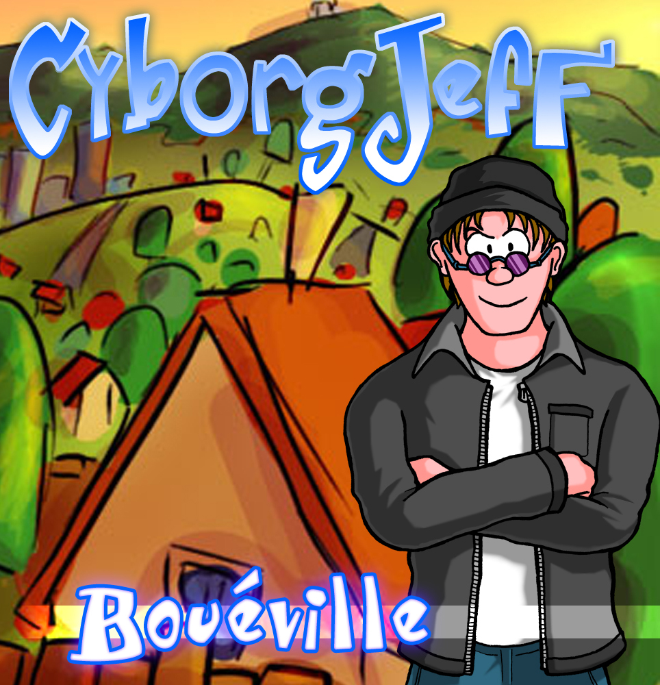 Cyborg Jeff - Bouéville - Cover - 2005