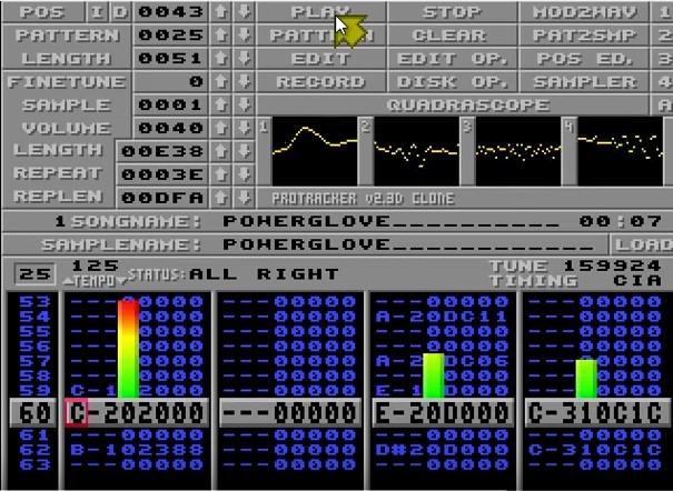 Cyborg Jeff - Power Glove - Amiga